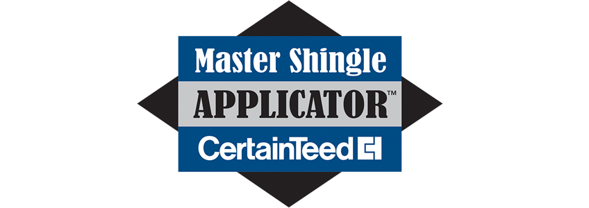 Kansas City roofing contractor with CertainTeed Master Shingle Applicator certification